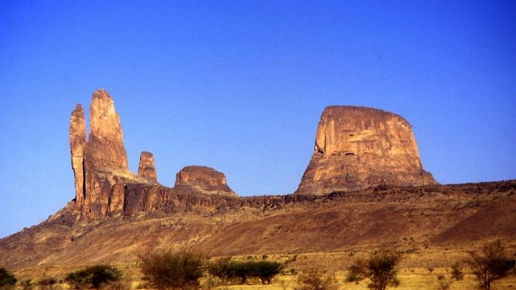Hombori Mountains in the Mopti region of central Mali