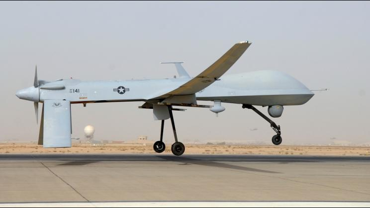 Predator drone in Iraq, 2008
