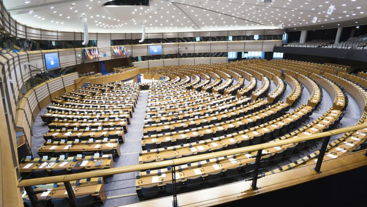 The European Parliament in Brussels, 2015