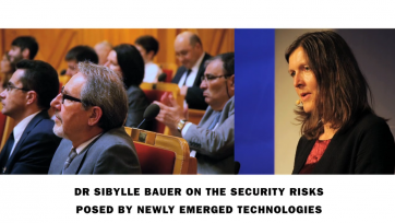 New SIPRI film series on the security risks of newly emerged technologies