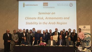 SIPRI and partners launch Arabic translation of SIPRI Yearbook 2018 in Beirut