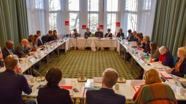 SIPRI co-hosts event on the 2020 review of the United Nations Peacebuilding Architecture