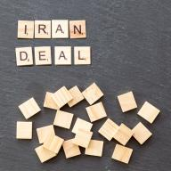 "Tiles from a game board spell ""IRAN DEAL"". Photo: Marco Verch /Flickr"