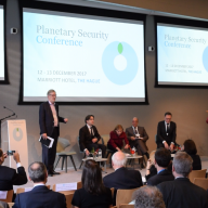 SIPRI partners on Planetary Security Conference