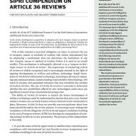SIPRI compendium on Article 36 reviews