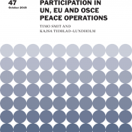 Trends in Women's Participation in UN, EU and OSCE Peace Operations