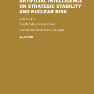 The Impact of Artificial Intelligence on Strategic Stability and Nuclear Risk vol III cover