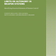 Front cover SIPRI ICRC_Limits of Autonomy