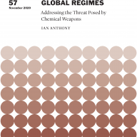 Strengthening Global Regimes: Addressing the Threat Posed by Chemical Weapons
