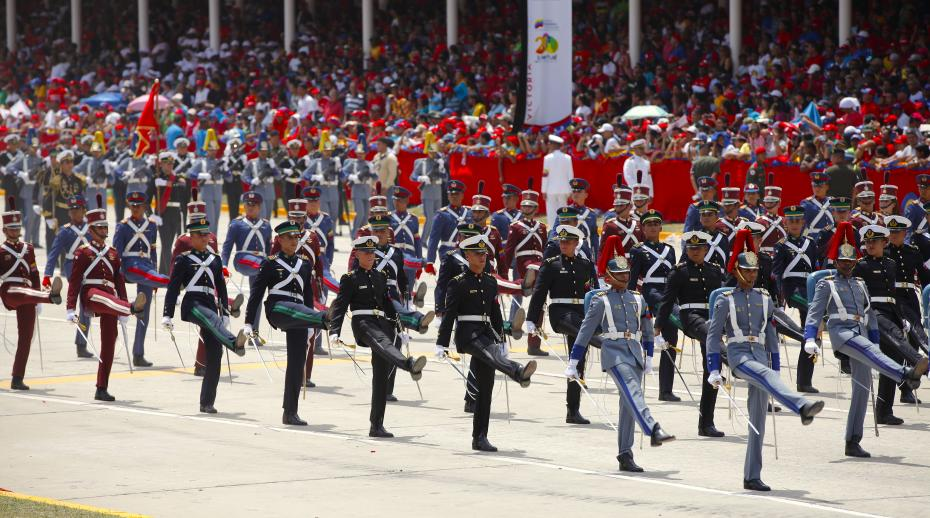 The crucial role of the military in the Venezuelan crisis