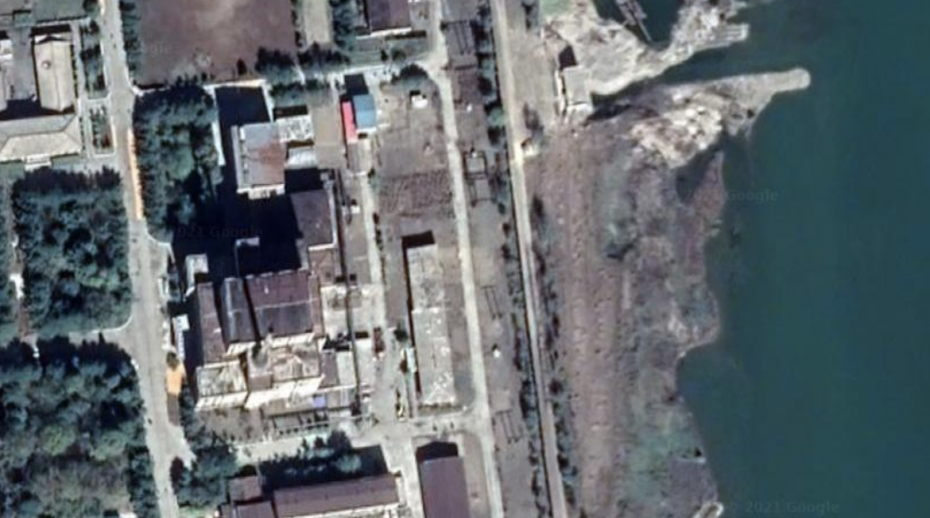 Satellite image of the Yongbyon complex. Source: Google, Imagery © CNES / Airbus, Maxar Technologies