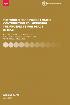 WFP Country Report_cover