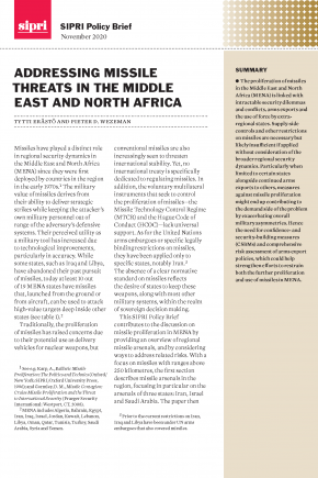 Addressing Missile Threats cover